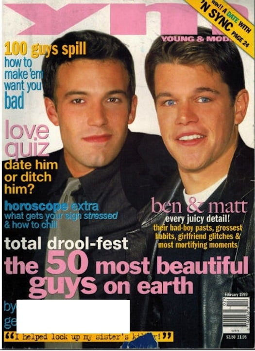 And lastly, YM hasn't been on newsstands for a decade.
