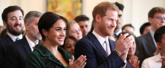 Meghan Markle and Prince Harry Birthday Comment Prince Louis