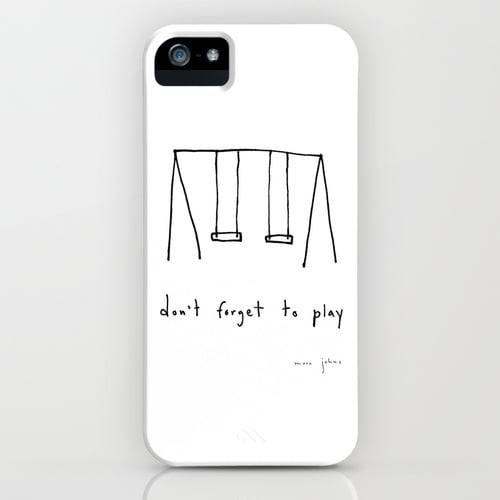 Don't Forget to Play by Marc Johns Smartphone Case