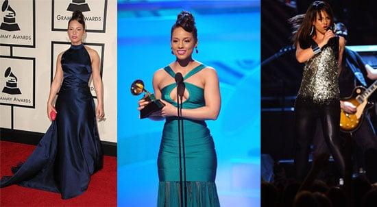 Which Alicia Keys Grammy Look Was Most Fab?