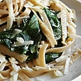 Pasta With Fava Greens