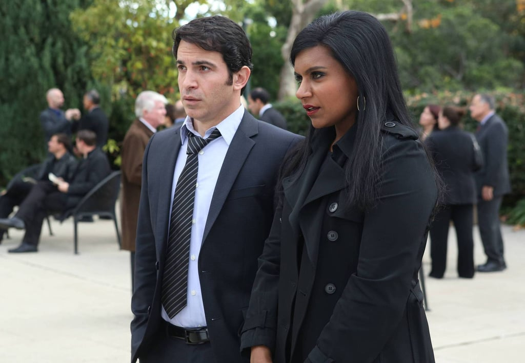 Mindy and Danny on The Mindy Project.