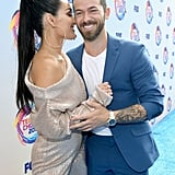 Nikki Bella and Artem Chigvintsev at the 2019 Teen Choice Awards