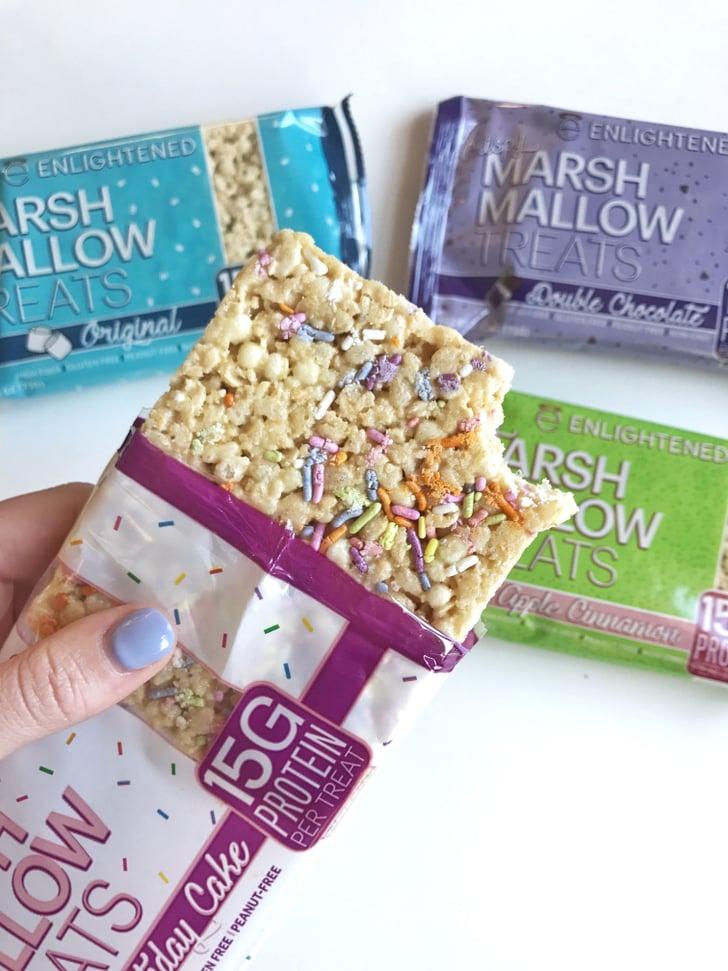 Enlightened Protein Marshmallow Rice Treats Popsugar Fitness