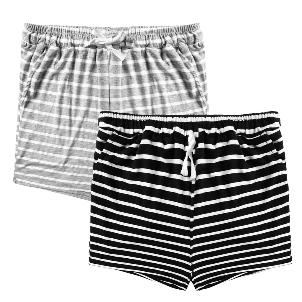 Aibrou Pajama Shorts