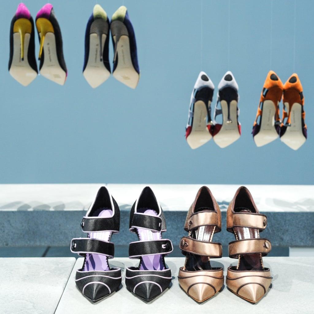 3cc7955b92 Manolo Blahnik New York Fashion Week Fall 2014 Show | POPSUGAR ...