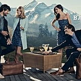 The Bally Spring 2012 ads showcase classic clothing in the Alps. Source: Fashion Gone Rogue