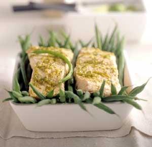 Fast & Easy Dinner: Lime-Steamed Salmon