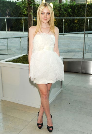 June 2010: Dakota Fanning at the CFDA Fashion Awards
