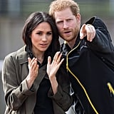 A few days earlier, the Duke and Duchess of Sussex traveled to Bath, England, to attend the UK team trials for the 2018 Invictus Games.