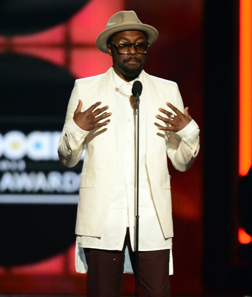 Will.i.am hit the stage at the Billboard Music Awards.
