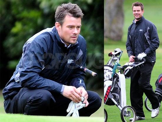 Josh Duhamel Plays a Round of Golf