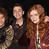 Gaten Matarazzo, Noah Schnapp, and Sadie Sink