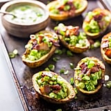 Paleo Potato Skins with Guacamole and Bacon