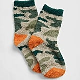 Camo is a classically cool print, and these Kids Cozy Crew Socks ($7) put it to good use.