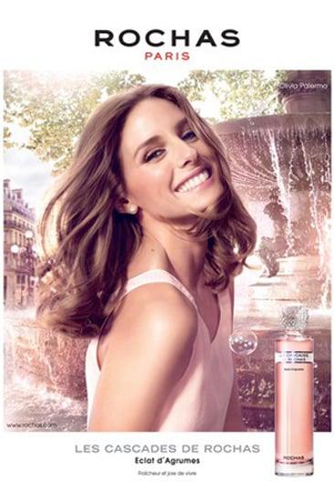 First Look: Olivia Palermo's Les Cascades de Rochas Perfume Campaign