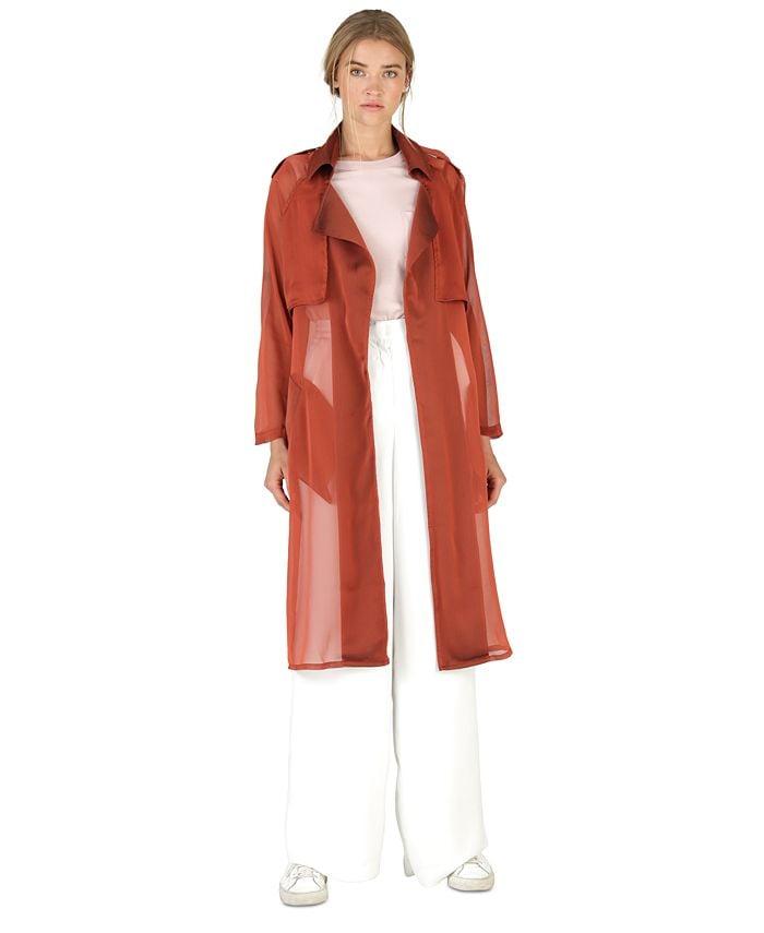 Dauntless Sam Gabardine Chiffon Coat & Reviews - Coats & Jackets -