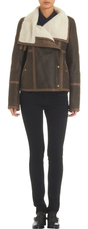 Unlike some coats, this style works well when bulky. See this Army by Yves Salomon style ($3,570) as a perfect example.