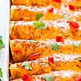 Sweet Potato, Corn, and Black Bean Enchiladas