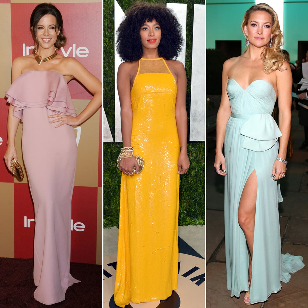 26 Celebrity Gowns You Can Wear as A Bridesmaid