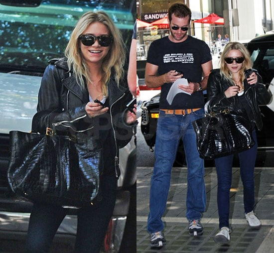 Ashley Olsen Enjoys Her Weekend