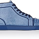 It doesn't get much cooler than these Christian Louboutin Suede Sneakers ($995).