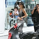 Rachel Zoe and Her Family Trade the St. Barts Beach For the Shops