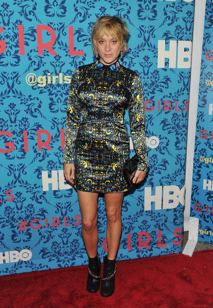 Chloe Sevigny attended the premiere of HBO's Girls in NYC.