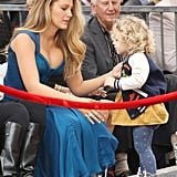 Blake Lively's Daughter Just Out-Dressed Her Mama — in a Dinosaur Varsity Jacket