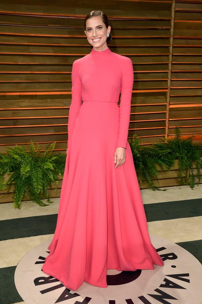 Allison Williams at Vanity Fair Oscars Party 2014