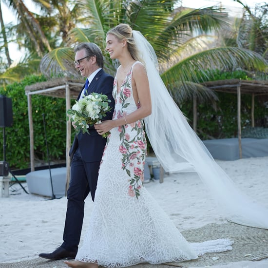 Roxanne Conso's Marchesa Wedding Dress