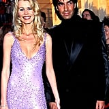 Claudia Schiffer (with David Copperfield)