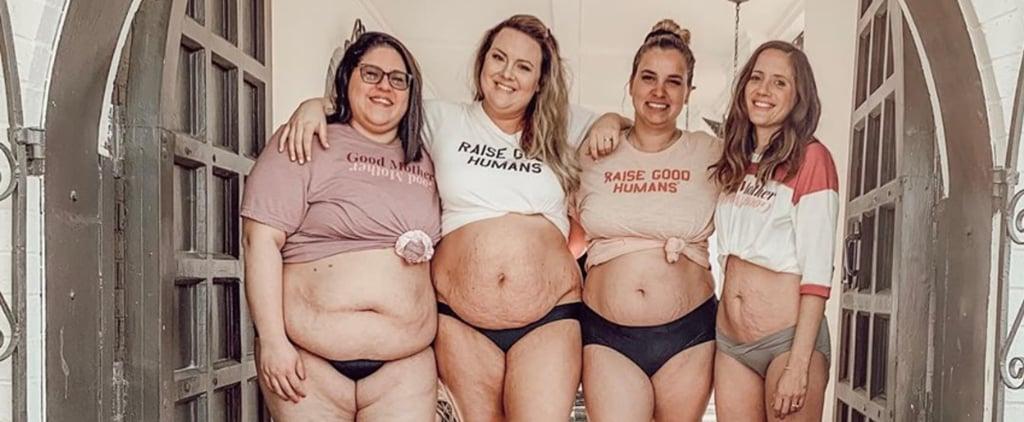 Moms' Group Postpartum Bodies Photo