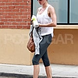 Gisele Bundchen Hits the Gym Following Father's Day With the Three Men in Her Life