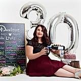 30th Birthday Cake Smash Photo Shoot