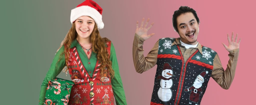 Ugly Christmas Sweater Vests at Target