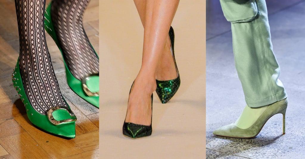 Fall 2019 Shoe Trend: Green