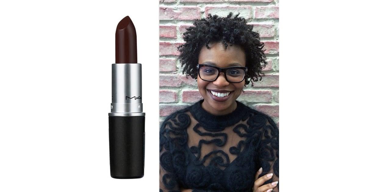 Extrêmement MAC Cosmetics Lipstick in Film Noir | How to Wear Brown Lipstick  QF93