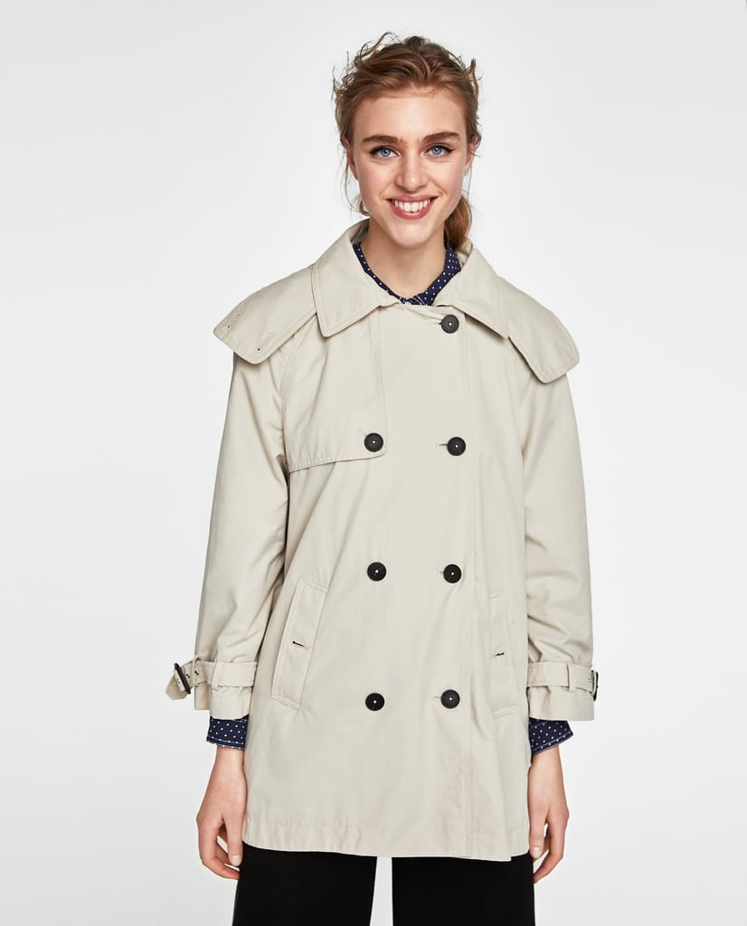 3b50500a Zara Short Trench Coat   Melania Trump Burberry Trench Coat in ...