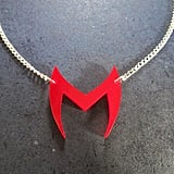 Scarlet Witch Emblem Logo Pendant Necklace Inspired by Costume Head Piece — Wanda Maximoff ($10)