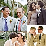 "Gay Weddings Spread the Love Just like other lifetime lovers, same-sex couples incorporate many well-loved traditions, and the heart of the big day is the same: two people in love dedicating the rest of their lives to each other. We've picked some of our favorite gay weddings to share with you that are paving the way for the union of ""man and man"" or ""woman and woman"" to be the traditional weddings of the future."