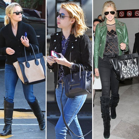 0a685cfb59 The celebrity Céline bag obsession — see who s rocking the luggage ...