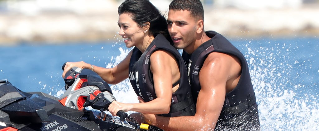 Kourtney Kardashian Cruises Around Cannes With Her Very Young, Very Hot New Man