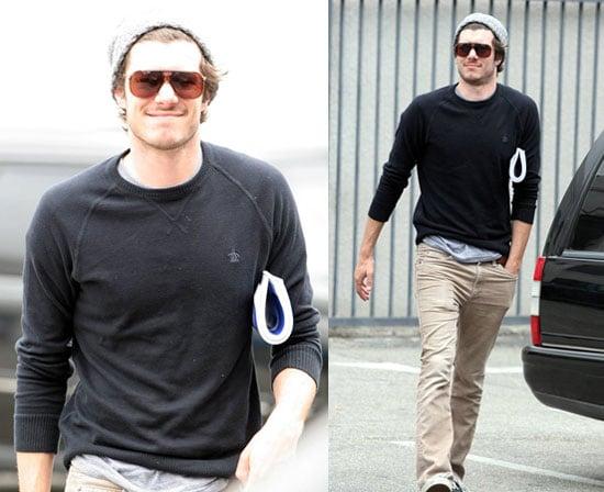 Adam is Cute, But Is It Really Hat Weather in LA?