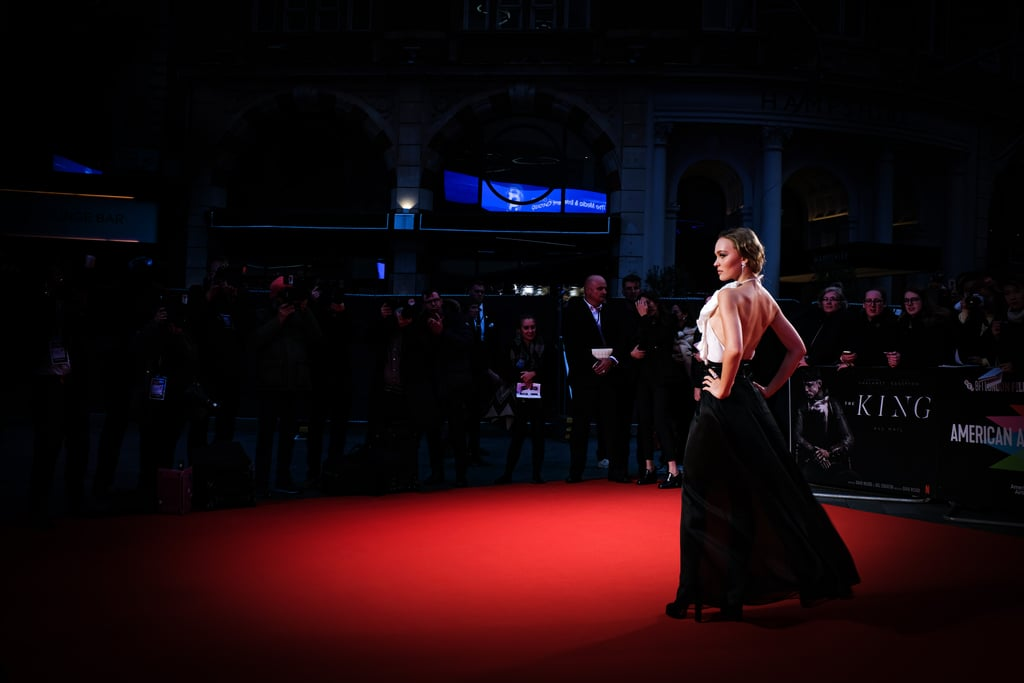 Lily-Rose Depp's Chanel Gown at the London Film Festival