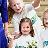 Savannah Phillips and Princess Charlotte