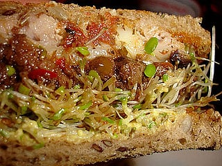Olive and Roasted Ahi Tuna Melt