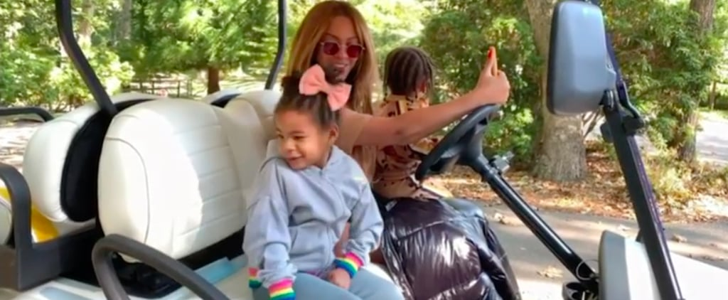 Beyoncé Shares 2021 New-Year Video Featuring Her Family