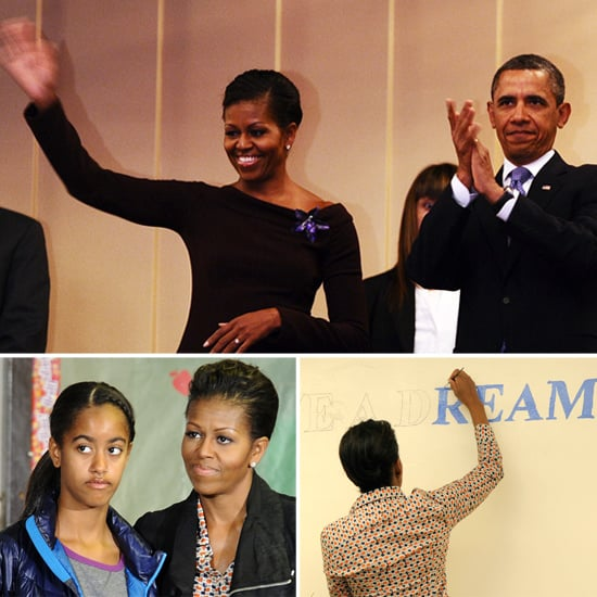 The Obamas Mark MLK Day Before Michelle's Big Day