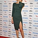 Olga Kurylenko wore Altuzarra at the 2013 Moves Magazine Spring fashion cover party in New York.
